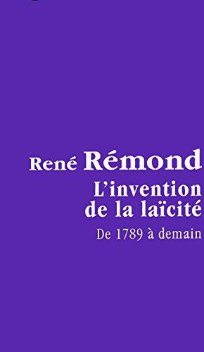 9782286018993: L'invention de la la�cit�, de 1789 � demain.