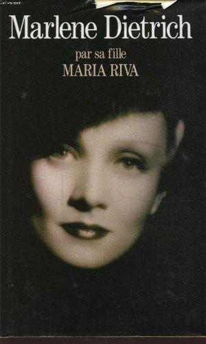 9782286042479: Marlène Dietrich : Par sa fille