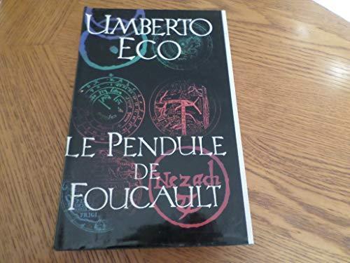 9782286468057: Le Pendule De Foucault