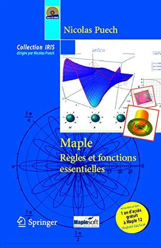 9782287252013: Maple - Règles et fonctions essentielles (Collection IRIS) (French Edition)
