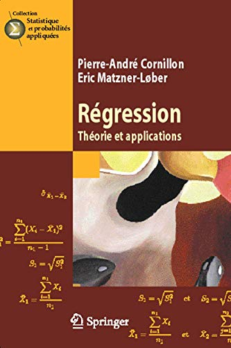 9782287396922: Regression : Theorie et Applications