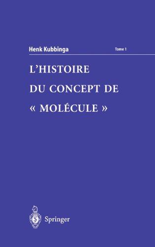 9782287597039: L'Histoire du concept de 'molécule' (French Edition)