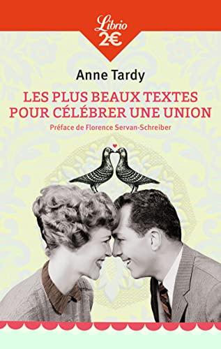 9782290000038: Librio: Les Plus Beaux Textes Pour Celebrer Une Union (French Edition)