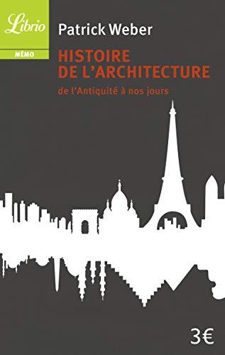 9782290007426: Histoire de l'architecture : De l'Antiquité à nos jours