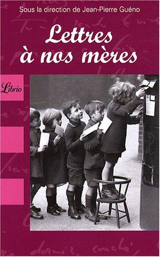 9782290007976: Lettres à nos mères