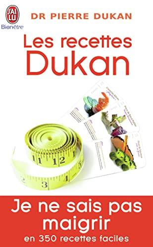 9782290008577: Les recettes Dukan : Mon régime en 350 recettes (J'ai lu Bien-être)