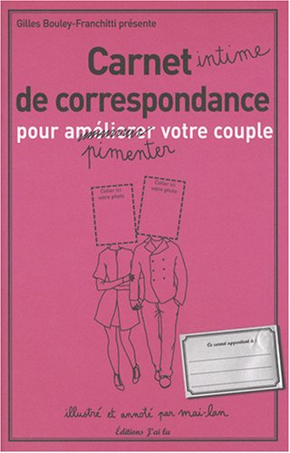 9782290009673: carnet intime de correspondance pour pimenter votre couple