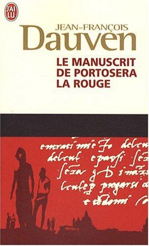 9782290011690: Le Manuscrit De Portosera LA Rouge (French Edition)