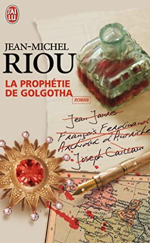 9782290011973: La Prophetie De Golgotha (French Edition)