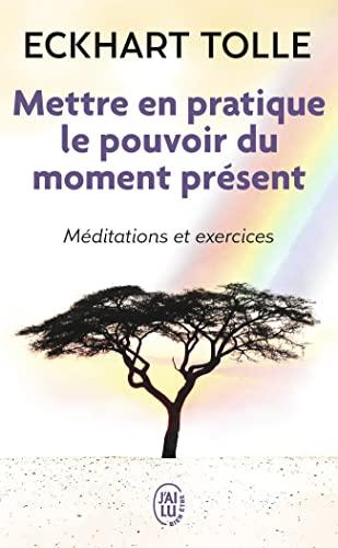 9782290020210: Mettre en pratique le pouvoir du moment présent : Enseignements essentiels, méditations et exercices pour jouir d'une vie libérée