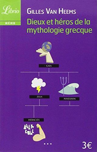 9782290030028: Dieux et héros de la mythologie grecque