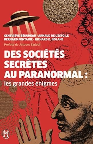 9782290033425: Des sociétés secrètes au paranormal : Les grandes énigmes