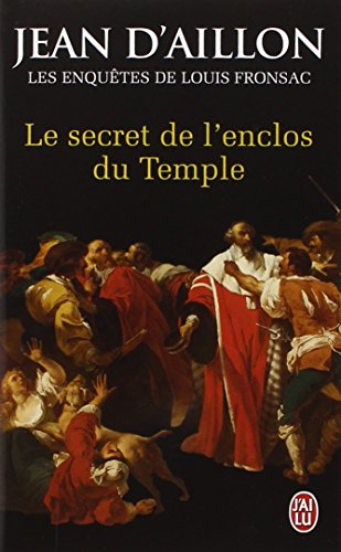 9782290039342: Le secret de l'enclos du Temple : Les enquêtes de Louis Fronsac