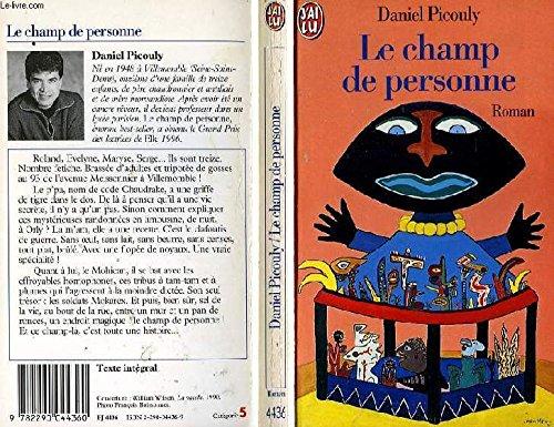 9782290044360: Le champ de personne (French Edition)