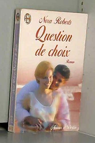 9782290050538: Question de choix