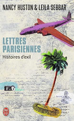 9782290053942: Lettres parisiennes : Histoires d'exil