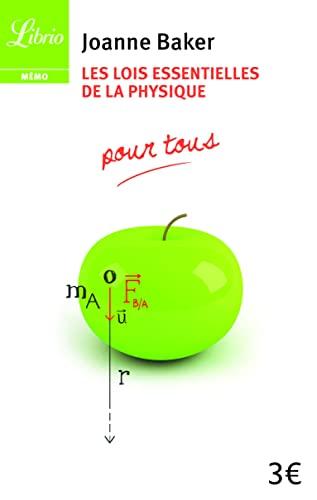 9782290058572: Les lois essentielles de la physique : Pour tous (Librio Mémo)
