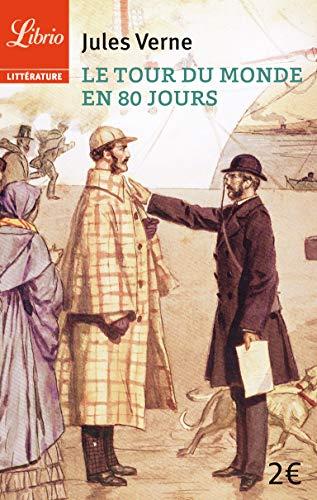 9782290068854: Le tour du monde en 80 jours (Librio littérature)
