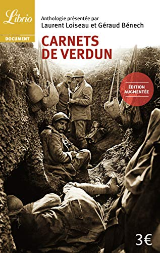 9782290087725: Carnets de verdun (ne) (Librio Document)