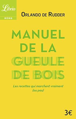 9782290093054: Manuel de la gueule de bois