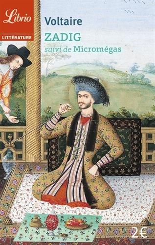 9782290108871: Zadig ou La destinée : Suivi de Micromégas (Librio littérature)