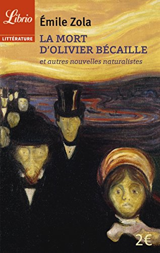 9782290115084: La Mort D'olivier Becaille Et Autres Nouvelles Naturalistes