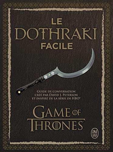 9782290119471: Le dothraki facile : Guide de conversation (1CD audio)