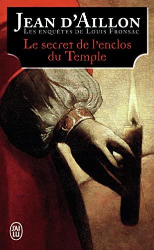 9782290128329: Les enquêtes de Louis Fronsac : Le secret de l'enclos du temple