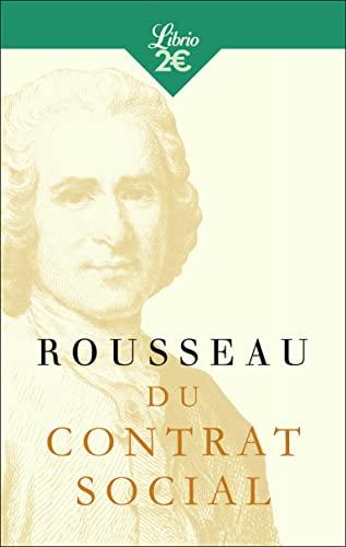 9782290151334: Du contrat social ou principes du droit politique (Librio Philosophie)