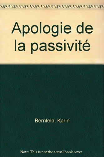 9782290311448: Apologie de la passivité