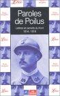 9782290314951: Paroles de Poilus : Lettres et carnets du front 1914-1918