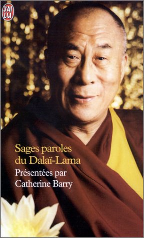 9782290320037: Sages paroles du Dalaï-Lama