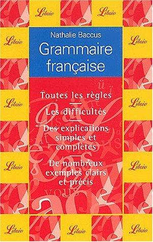 9782290320563: Grammaire française (Librio)