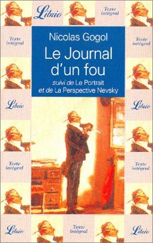 Le journal d'un fou (LIBRIO LITTERATURE): Gogol, Nikolai