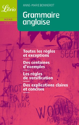 9782290329252: Grammaire anglaise