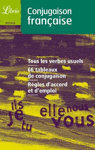 9782290335642: Conjugaison Francaise (Librio Memo) (French Edition)