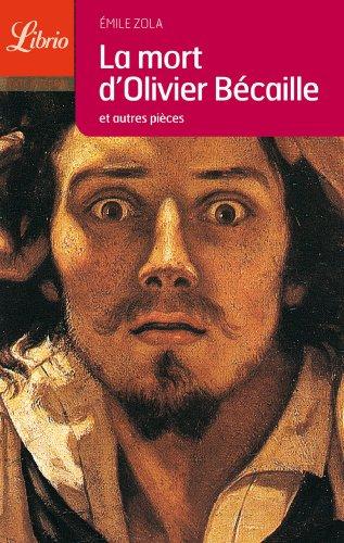 9782290336977: La Mort D'Olivier Becaille (Librio Litterature) (French Edition)