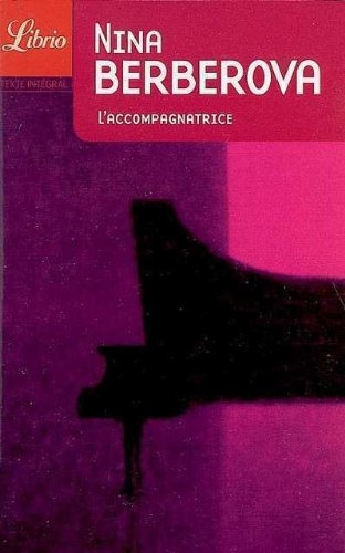 9782290339848: L'accompagnatrice (French Edition)