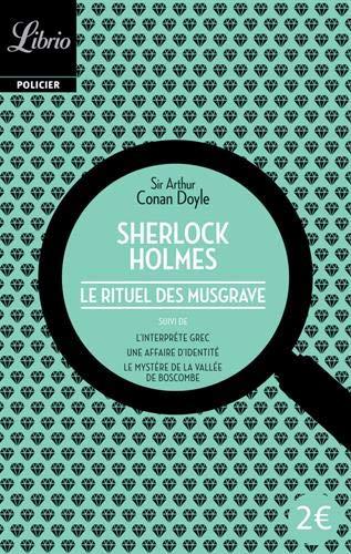 Le Rituel des Musgrave (Sherlock Holmes) (French: Doyle, Arthur Conan