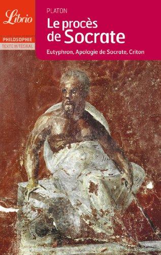 9782290341476: Le proces de socrate (Librio Philosophie)