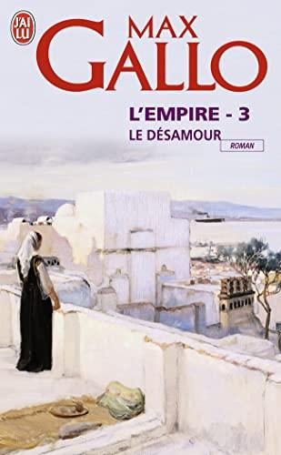 9782290345740: L'empire, Tome 3 : Le désamour