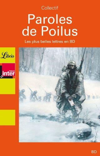 9782290353530: Paroles de Poilus : les plus belles lettres en bd