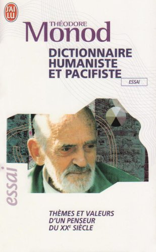 9782290353653: Dictionnaire Humaniste ET Pacifiste (French Edition)