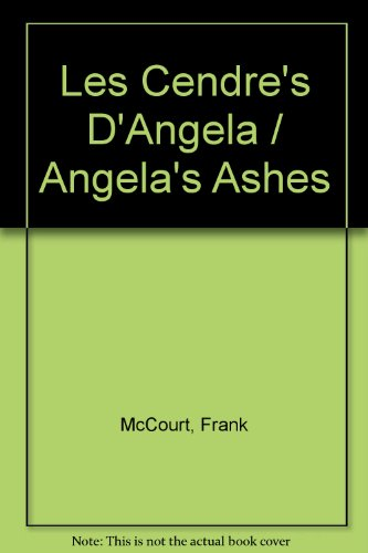 9782290500088: Les Cendre's D'Angela / Angela's Ashes (French Edition)