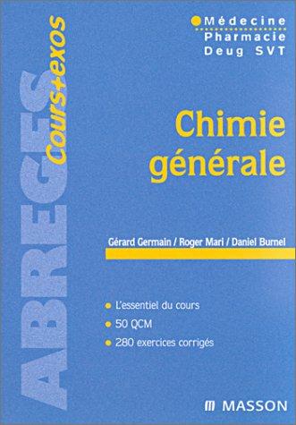 9782294000058: Chimie générale