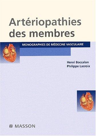 9782294003073: Arteriopathies des membres deuxième édition (French Edition)