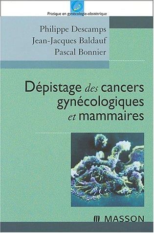 9782294003103: Dépistage des cancers gynécologiques et mammaires (French Edition)