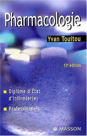 9782294005176: Pharmacologie : Diplôme d'Etat d'infirmière, Professionnels