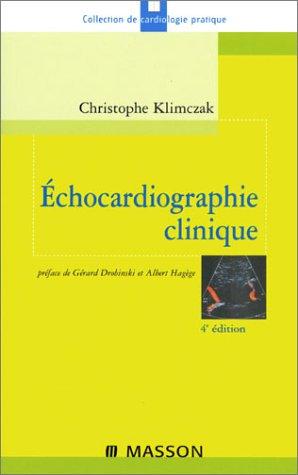9782294007231: Echocardiographie clinique 4ed