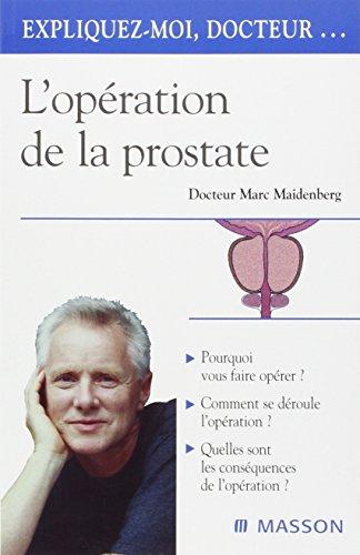 9782294007651: L'operation de la prostate